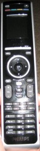 Here's the remote before adding the bumpers