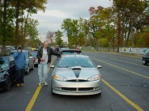 Brad and His Cougar Before Supercharger